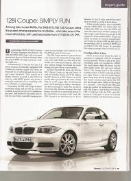 128i: Simple Fun, Great Price! ...in Bimmer Magazine...