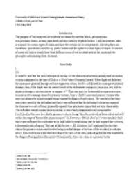 tort law essay the purpose of this essay will be to advise on page 1 zoom in