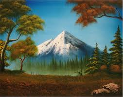 mountain paintings google search