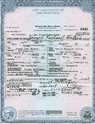 Birth Certificate Sample Usa Mangdienthoai Com