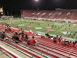 Sam Boyd Stadium Virtual Seating Chart Sam Boyd Stadium Section 125 Rateyourseats Com