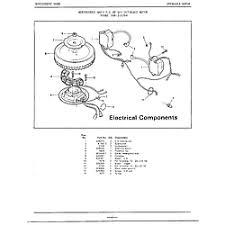 mercury outboard motor parts model 52179a sears partsdirect 7 5hp electri