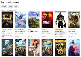 Xbox 1 Games Chart