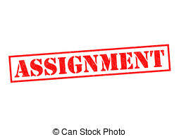 assignment illustrations and clip art assignment royalty  assignment red rubber stamp over a white background