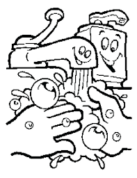 wash your hands coloring page wash your hands care your health coloring pages spanish hand washing