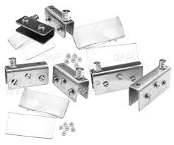 2 glass door pivot hinges 110º chrome or black 2 pair for cabinet 1 of 1free see more