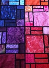 Stained Glass Quilt Pattern Adorable Croppedeasystainedglassquiltpatternjpg Art On The Go Atlanta
