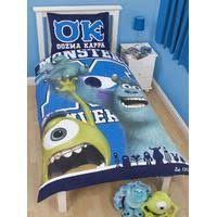 Monsters Inc Bedding And Bedroom Accessories. Monsters Inc University  Reversible Single Cover