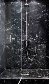 The Aestate: Project: Guest Bathroom. Black Marble BathroomMarble ...