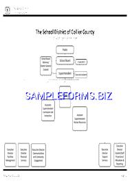 School Organizational Chart Template School Organizational Chart Templates Samples Forms