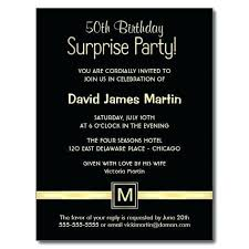 Birthday Party Invitations Wording Surprise Birthday