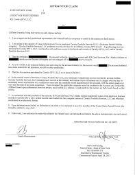 Affidavit Of Facts Template Affidavits Is There A Lawyer In The House Credit InfoCenter Forums 22