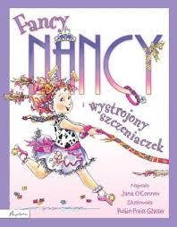 Książka Fancy Nancy i wytworny szczeniaczek Jane OConnor Robin Preiss  Glasser - Bajki, wierszyki, baśnie - Książki dla dzieci i młodzieży