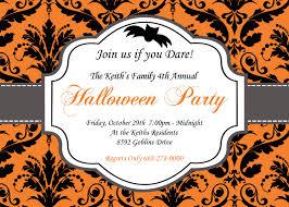 Halloween Invitation Template Halloween Invitations Template Halloween Party Free Printable 4