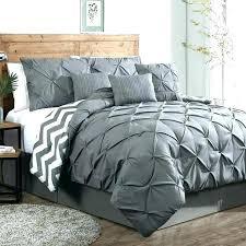 gray king comforter set