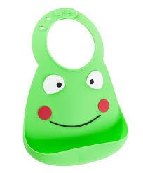 <b>Нагрудник</b> силиконовый <b>Make My</b> Day Frog: купить в интернет ...