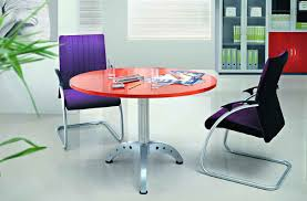 small round office tables. Full Size Of Tables, Beautiful Small Orange Table Top With Metal Leg Round Conference Design Office Tables R