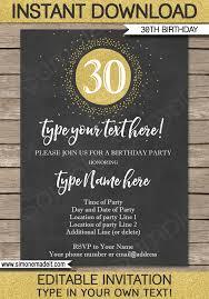 30th Invite Template Under Fontanacountryinn Com
