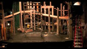 Into The Woods Set Design Broadway Into The Woods Set In Time Lapse