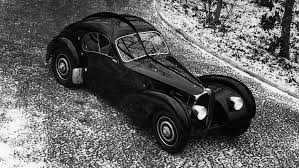 The first atlantic with the chassis no 57473 was originally sold to the parisian business man known as la voiture noire (the black car), the missing bugatti type 57sc atlantic was used in promotional materials after it was given to its owner. Bugatti S Iconic Atlantic Coupe Turns 80 Here S Why It S Timeless Robb Report