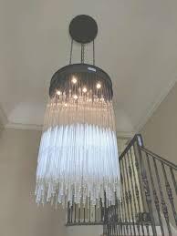 rain chandelier from restoration hardware installed by bays intended for restoration hardware chandelier view