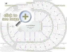 bridgestone arena seating chart with