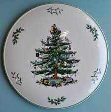 Spode Christmas Cake or Celebration Plate