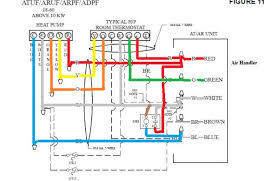 goodman wiring diagram heat wiring diagram and schematic design line goodman heat pump thermostat wiring diagram sle white