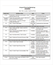 agenda template for word meeting planning template conference schedule template 7 free