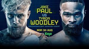 Jake Paul vs Tyron Woodley live stream ...