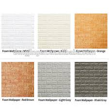 3d brick fashion 3d brick pe foam wall sticker wallpaper art home room wall decor wall