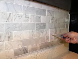 Backsplash For Kitchen How To Install A Marble Tile Backsplash Hgtv