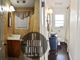 diy budget bathroom renovation reveal