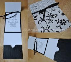 Black And White Invitation Paper Black And White Wedding Invitations Diy Ideas