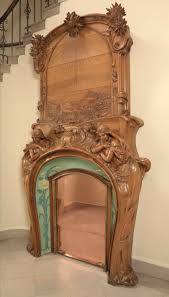 art nouveau fireplaces by emile muller charles gréber and hugnet frères
