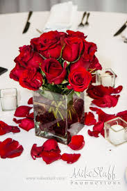Red Flower Arrangements For Weddings Best 25 Red Rose Centerpieces Ideas On  Pinterest Red Wedding Fall Flowers For Weddings