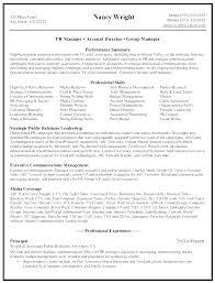Communications Director Resume Example Marketing Model Letsdeliver Co