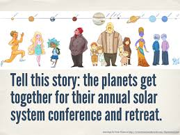 solar system conference visual writing prompts prompt
