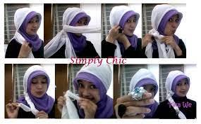 Tutorial hijab segi empat dengan ciput topi. Cara Memakai Kerudung Pakai Ciput Topi Fasahijab