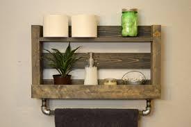 wood towel bar. Ideas, 24 Bathroom Towel Shelves Wood Rack Hand Intended For Size 1500 Bar C