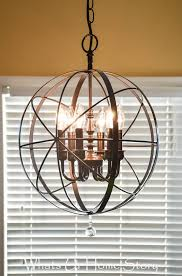creative inspiration orb light fixture diy from thrifty decor 6 chandelier ballard designs