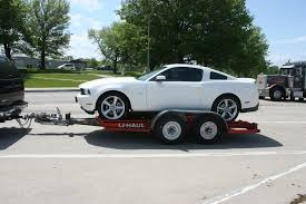 Uhaul towing trailer - The Mustang Source - Ford Mustang Forums