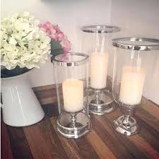 silver hurricane candle holders glass silver cylinder hurricane lamp silver glass hurricane lamp glass hurricane candle