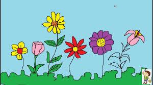 Vẽ vườn hoa - YouTube