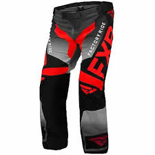 Fxr Snow Pants Size Chart Fxr Cold Cross Rr Mens Snow Pants Red Black Charcoal