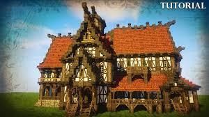 Minecraft Tavern Design Minecraft Medieval Tavern Inn Tutorial Minecraft House