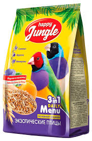 Корма для птиц <b>Happy Jungle</b> - отзывы, рейтинг и оценки ...