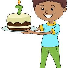 boy birthday clip art. Simple Boy Clip Art Of A Boy Holding Birthday Cake For Boy Birthday Art O