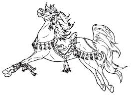 Carousel Horse Coloring Page Pages