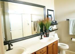 black framed bathroom mirrors. Black Frame Bathroom Mirror Framed Mirrors